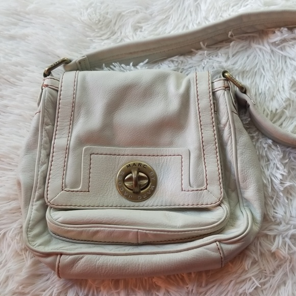 Marc By Marc Jacobs Handbags - Marc Jacobs Off White Leather Purse
